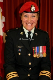 Major Vanessa Hanrahan came out to be Reviewing Officer