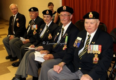 Royal Canadian Legion Branch 92 put in a good showing