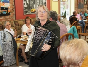Sheila Rosalie and Friends serve up gospel music at the Hot Roast Co.