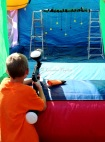 Paint ball target shooting