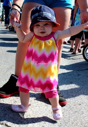 Dancing Aaliyah, 12 months, ready to strut her stuff