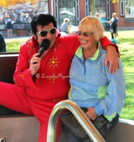 Dreams do come true! Sharing a hot tub with Elvis