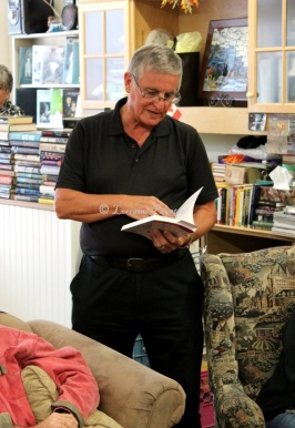 Book reading by George Caron