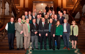 PC Caucus wears Green for 100th Anniversary of 4-H