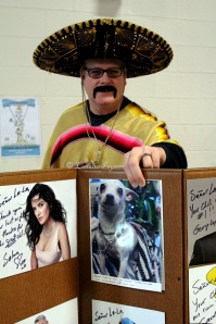 Senor LaLa and Chiquita Chihuahua overwhelmingly support the GDHS Chilli Fest!