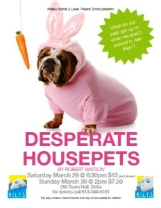 Desperate Housepets postercor