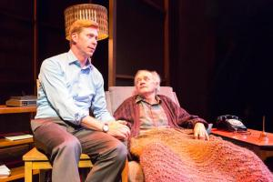 Geoffrey Pounsett as Mitch and Ian D. Clark as Morrie - photo by Jay Bridges